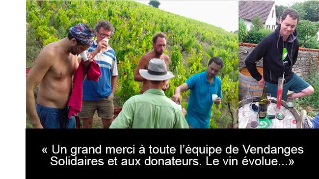 Claire et François, vigneron du domaine Bouillot-Salomon