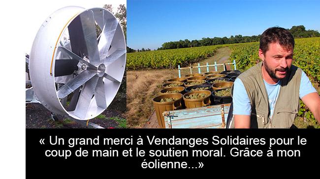 Fred Lailler, vigneron du Domaine Brégeon