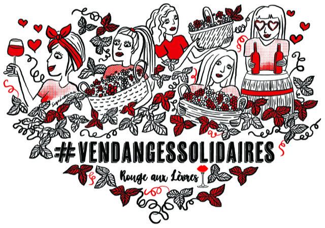 Rouge aux Lèvres x Vendanges Solidaires